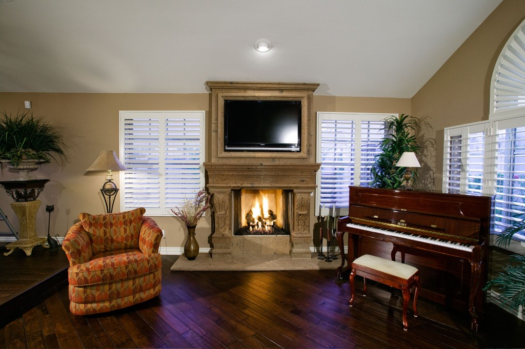 Eclectic Fireplace - After