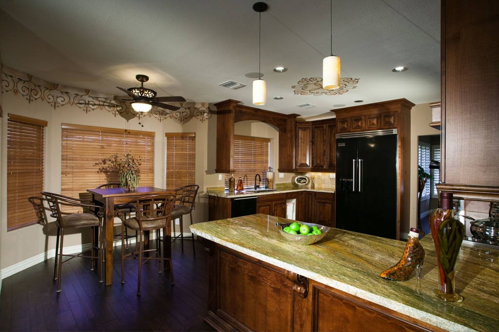 Eclectic Kitchen - After