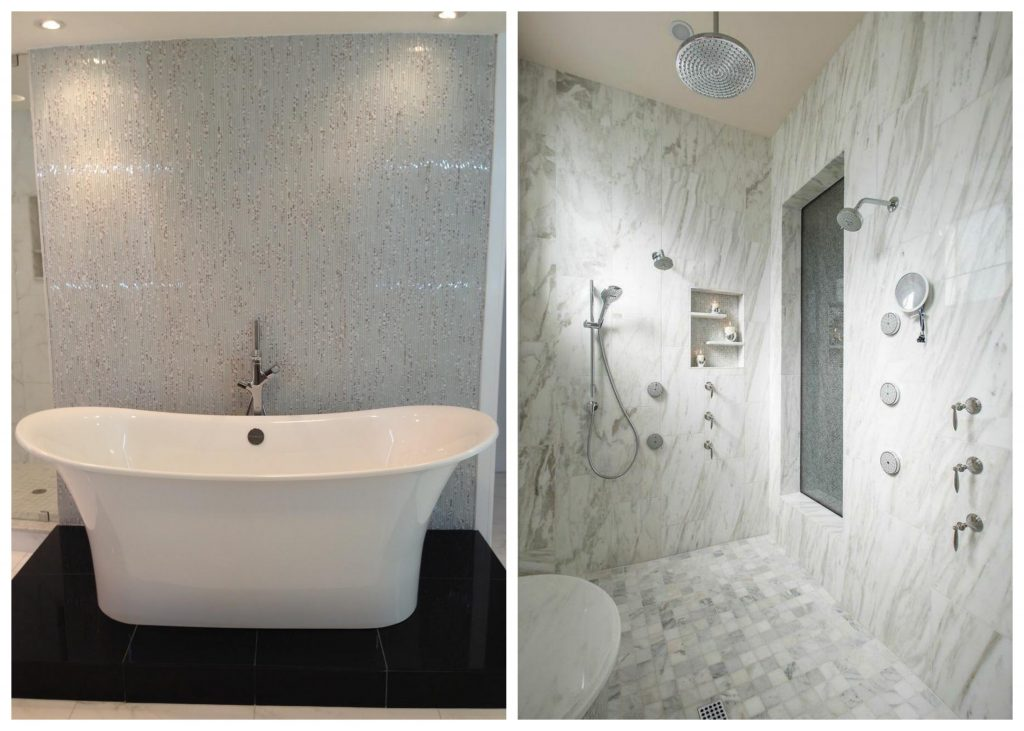 2016 bathroom trends rdk design build for Modern bathroom tile trends