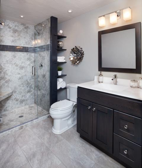Statement Showers Whether Large Or Small Are All The Rage. They Have Become  The Focal Point Of Our Bathrooms. Trending Decorative Stone, Tile And Wood,  ...